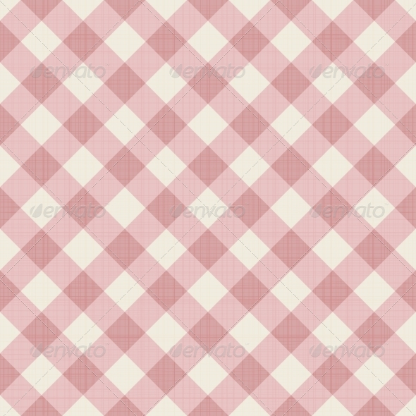 Seamless Checkered Background - Backgrounds Decorative