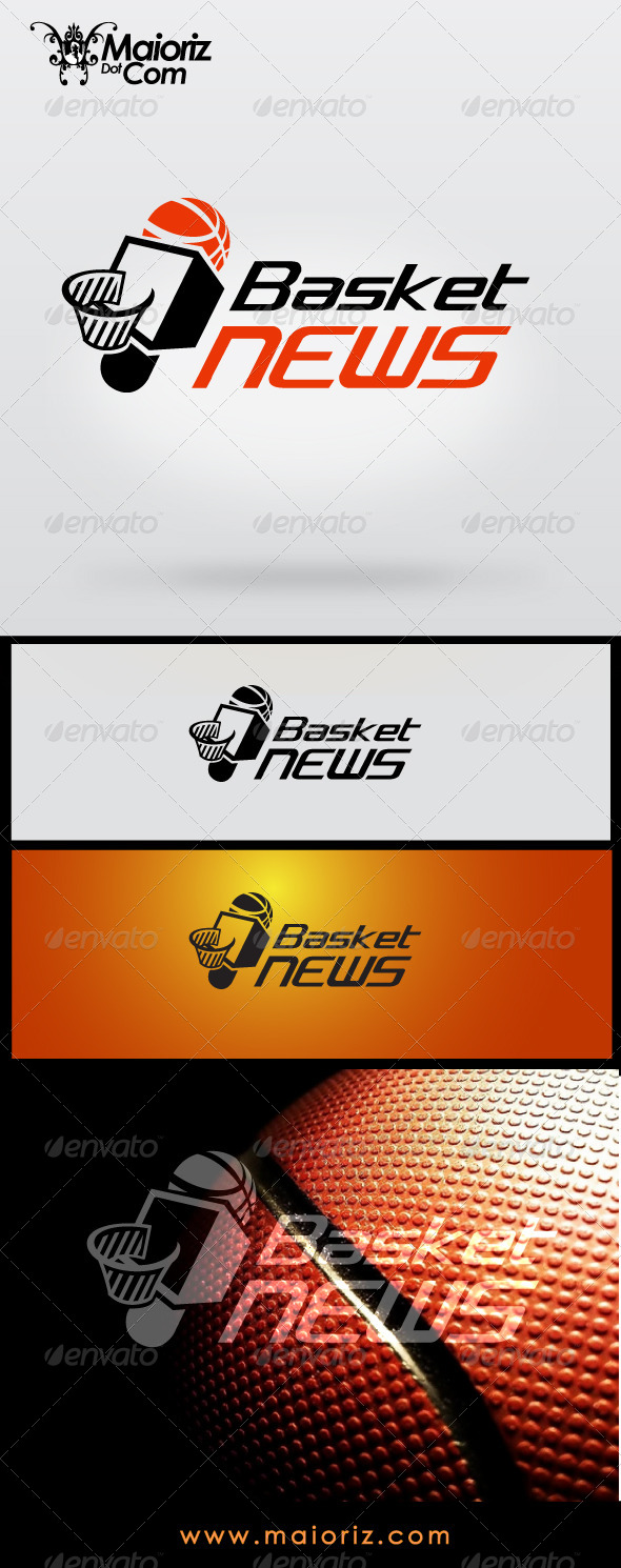 Basket News Logo - Objects Logo Templates