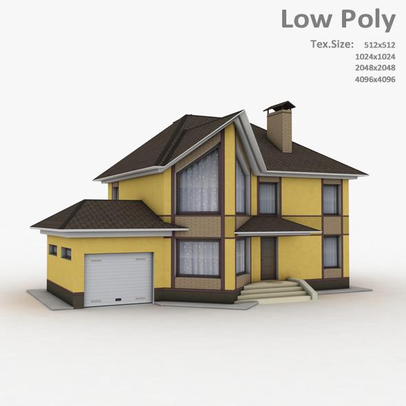 Building 028 - 3DOcean Item for Sale