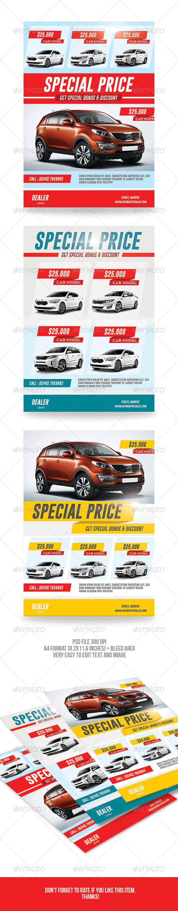 Car Sale Flyer - Corporate Flyers