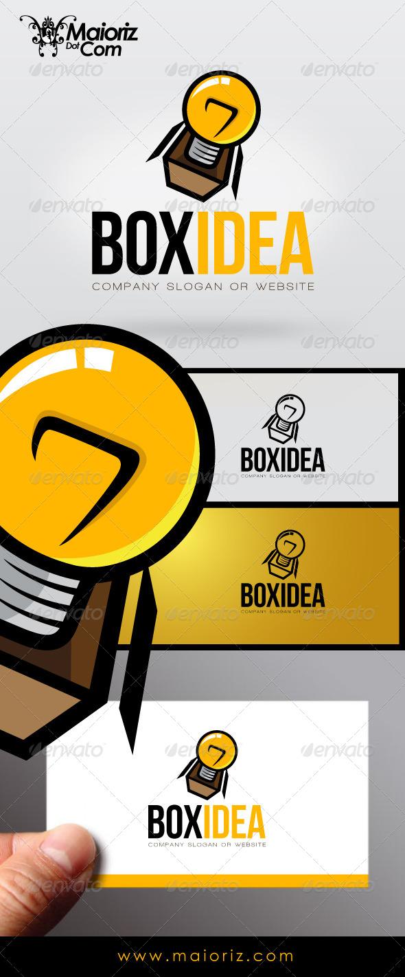 Box Idea Logo - Objects Logo Templates