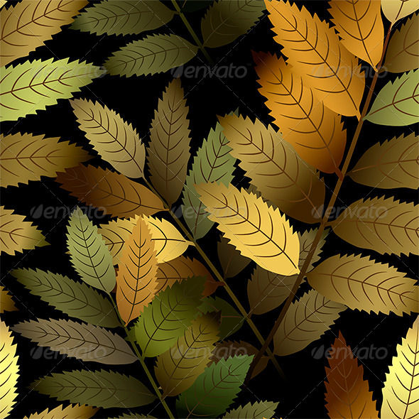 Seamless Branch Pattern - Patterns Decorative