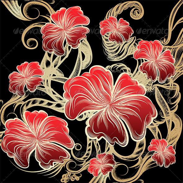 Flowers - Decorative Vectors