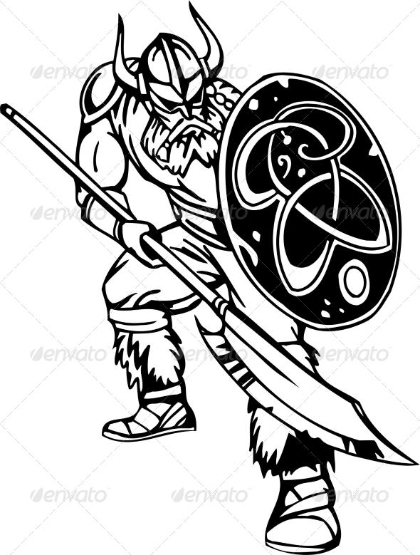Nordic Viking - People Characters
