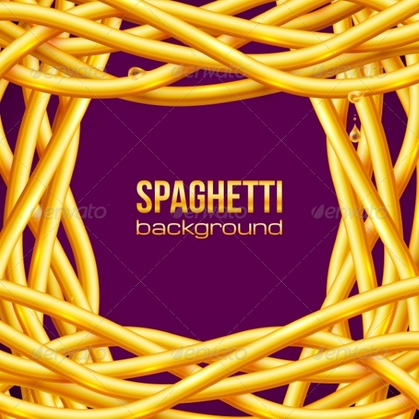 Spaghetti Frame - Food Objects