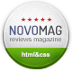 NovoMag - Clean Magazine & Review HTML Template