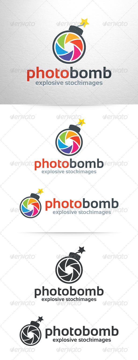 Photo Bomb Logo v2 - Objects Logo Templates