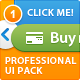 Professional Comprehensive UI Pack - GraphicRiver Item for Sale