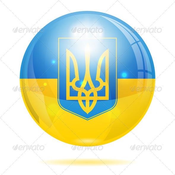 Ukraine Symbol - Travel Conceptual