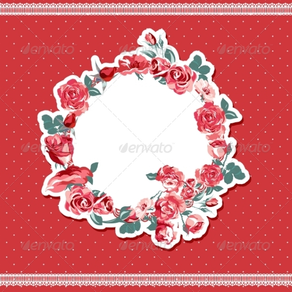 Roses Background - Patterns Decorative