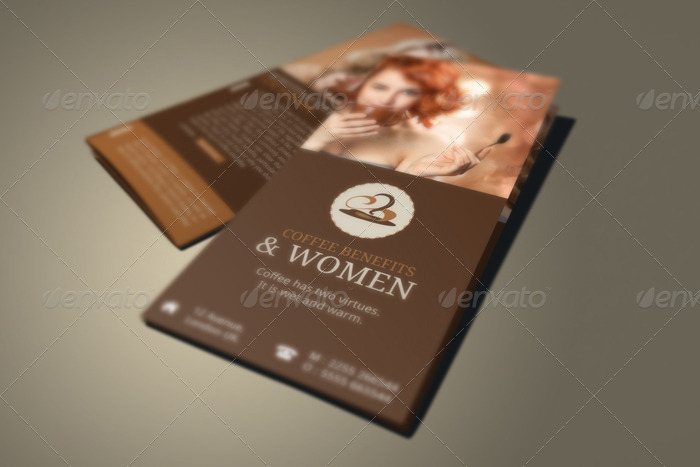 Coffee Benefits Brochure By Blogankids | Graphicriver