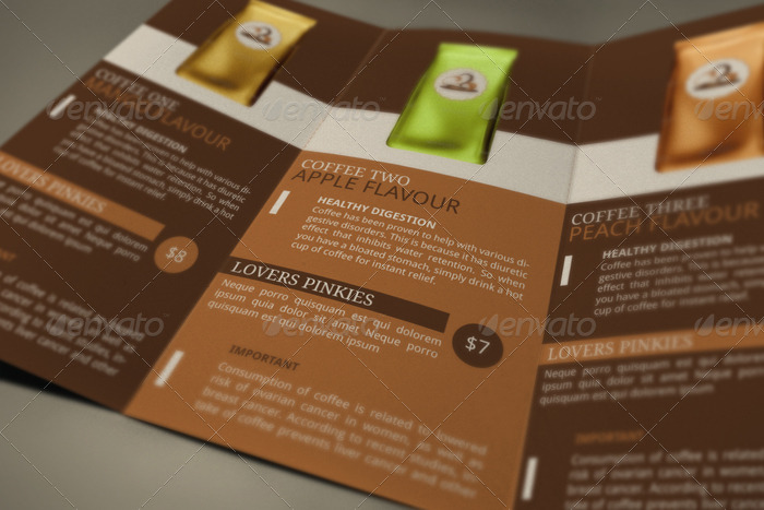 Coffee Benefits Brochure By Blogankids  Graphicriver
