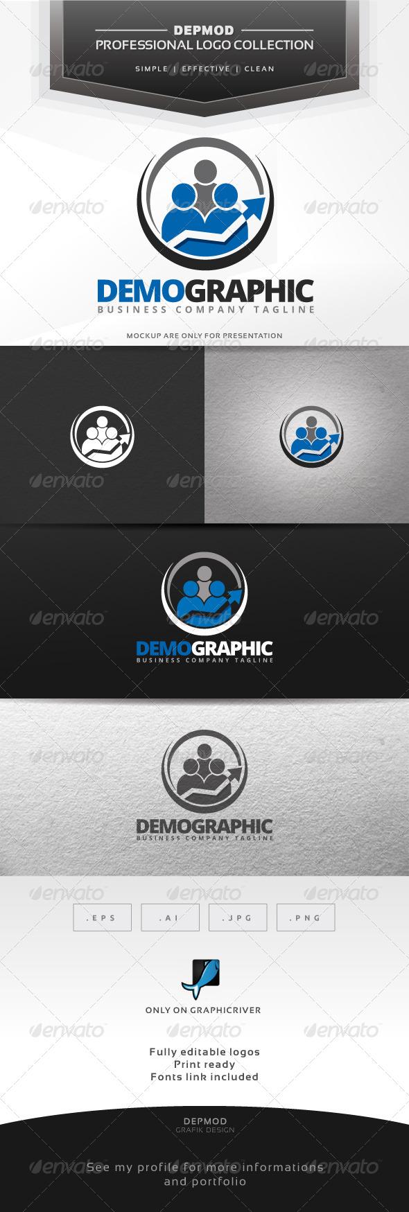 Demographic Logo - Symbols Logo Templates
