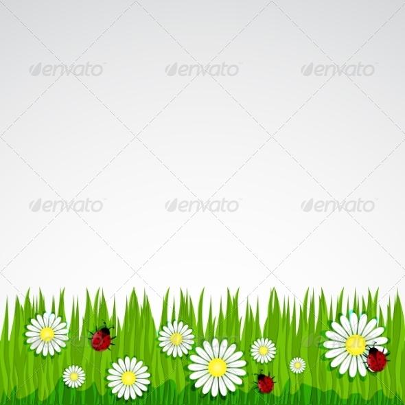 Spring Background - Backgrounds Decorative