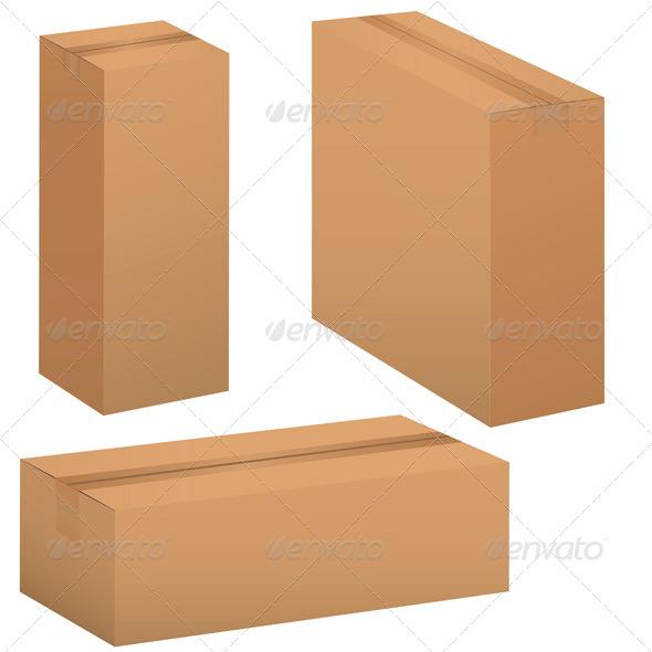 Box Set - Objects Vectors