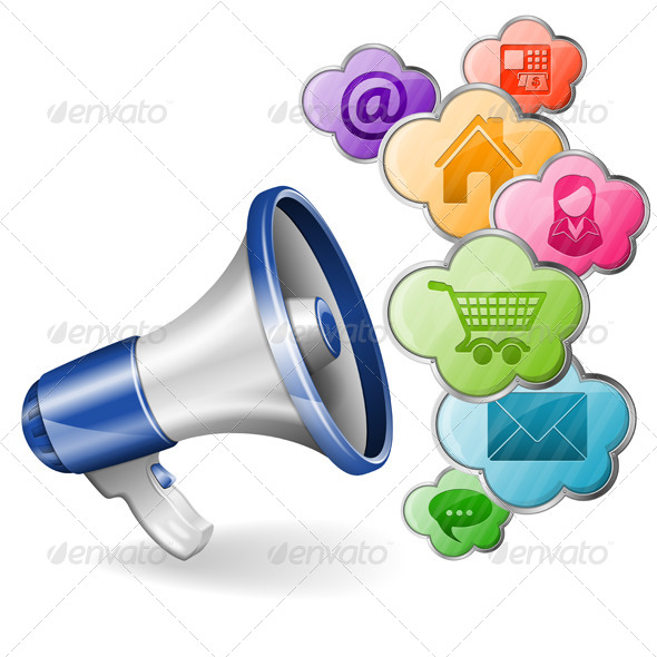 Megaphone - Concepts Business