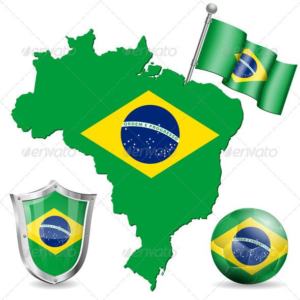 Brazilian Symbol - Sports/Activity Conceptual