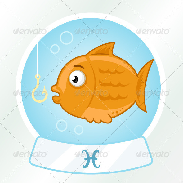 Pisces Horoscope Sign - Animals Characters