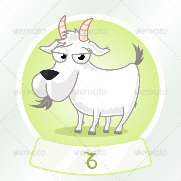 Capricorn Horoscope Sign - Animals Characters