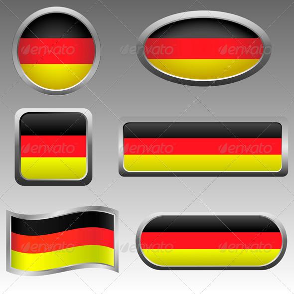 Germany Signs - Vectors