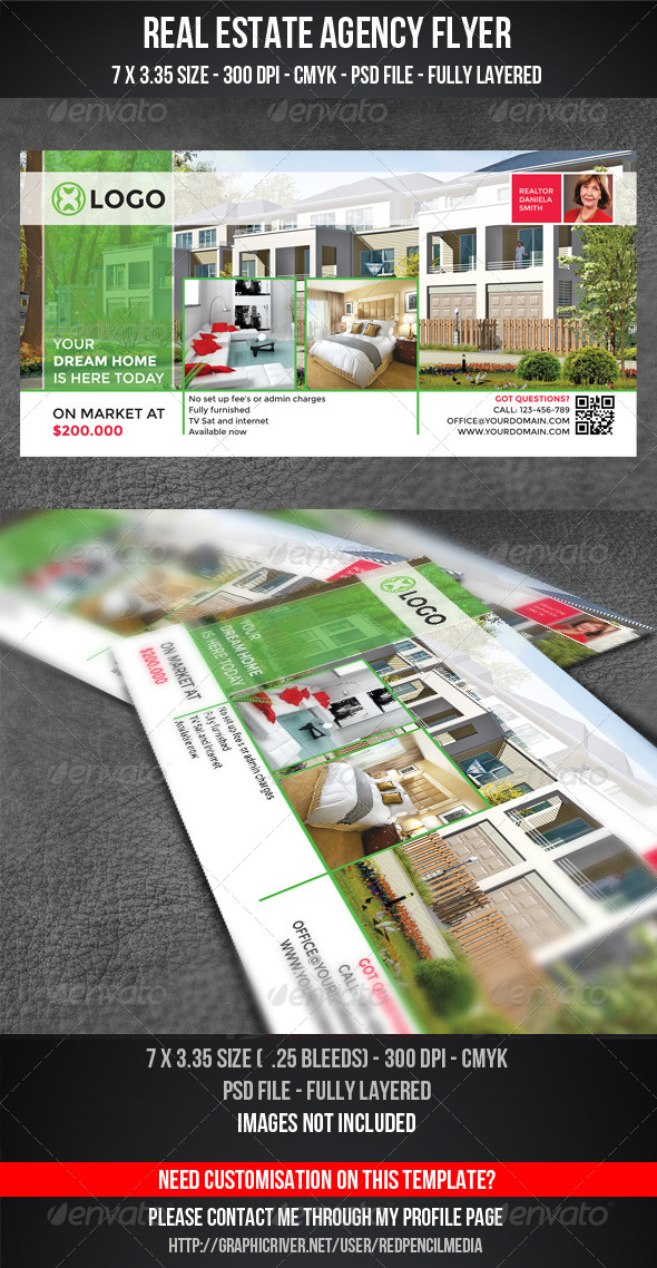 Real Estate Flyer / Magazine AD - Flyers Print Templates