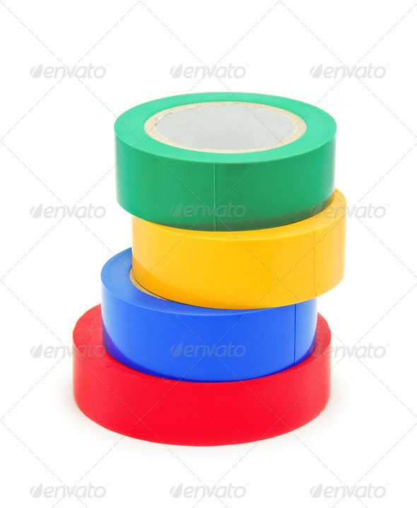insulating tape - Stock Photo - Images