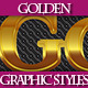 Set of Rich Golden Graphic Styles for Design - GraphicRiver Item for Sale