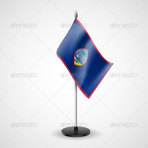 Table Flag of Guam - Miscellaneous Vectors