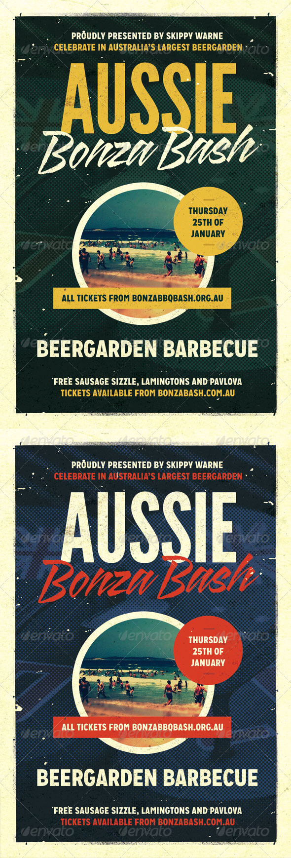 Bonza - Australia Day Flyer Template - Holidays Events