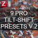 9 Pro Tilt-Shift Presets vol.2 - GraphicRiver Item for Sale