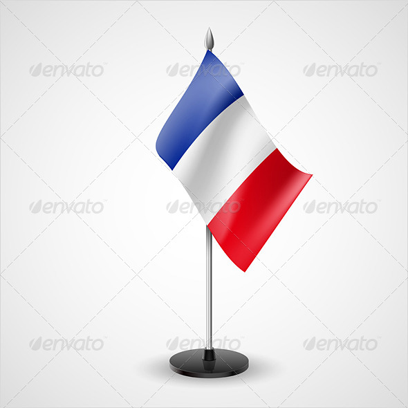 Table Flag of France - Miscellaneous Vectors