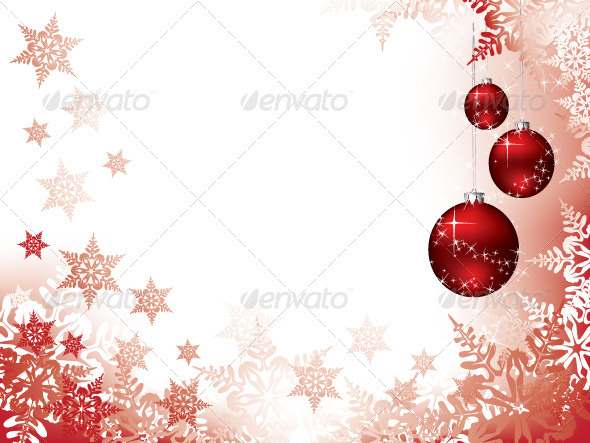 Vector Christmas Background - Christmas Seasons/Holidays