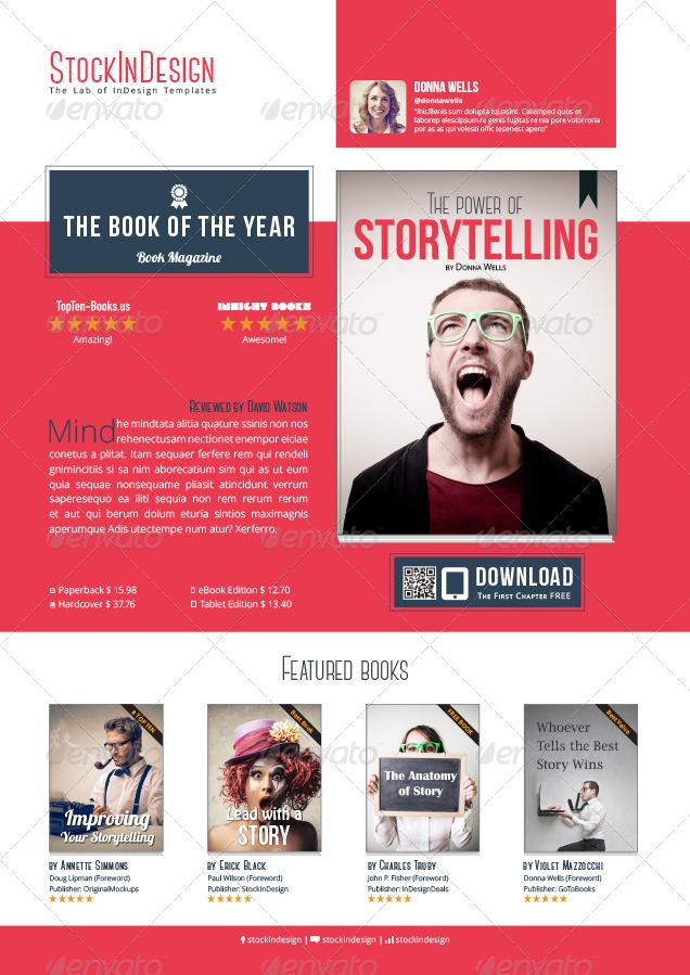 My Book Ebook Promotion - Flat Design