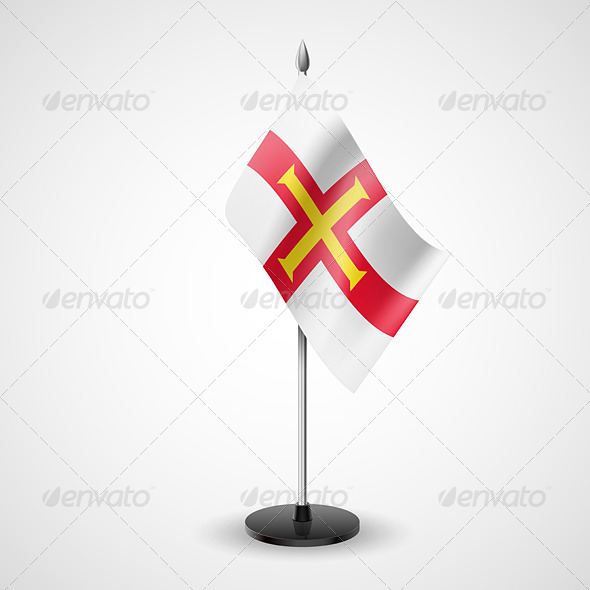 Table Flag of Guernsey - Miscellaneous Vectors