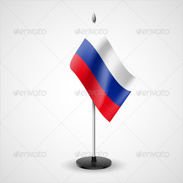 Table Flag of Russian Federation - Miscellaneous Vectors