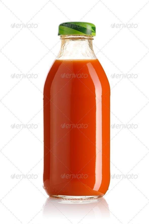 Carrot juice - Stock Photo - Images