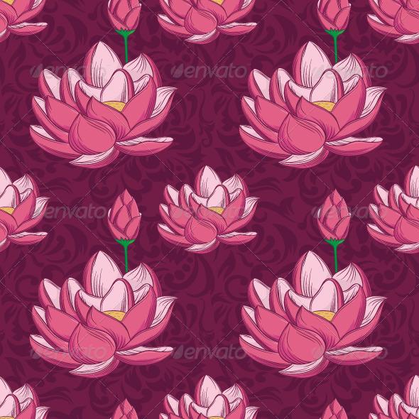 Lotus Ornamental Pattern  - Patterns Decorative