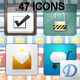 Rounded Glossy Icon Pack - GraphicRiver Item for Sale