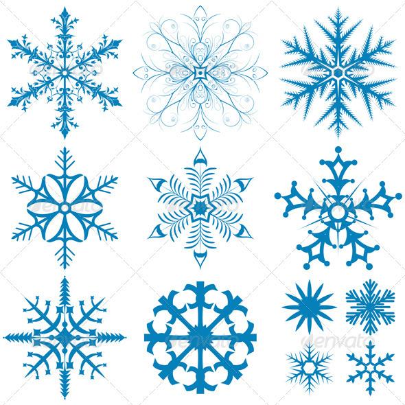 Snowflakes Collection - Christmas Seasons/Holidays