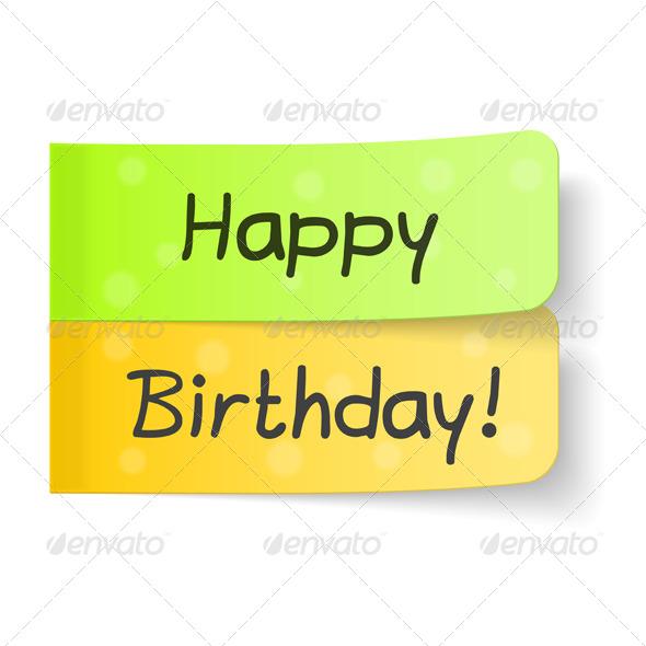 Happy Birthday - Seasons/Holidays Conceptual