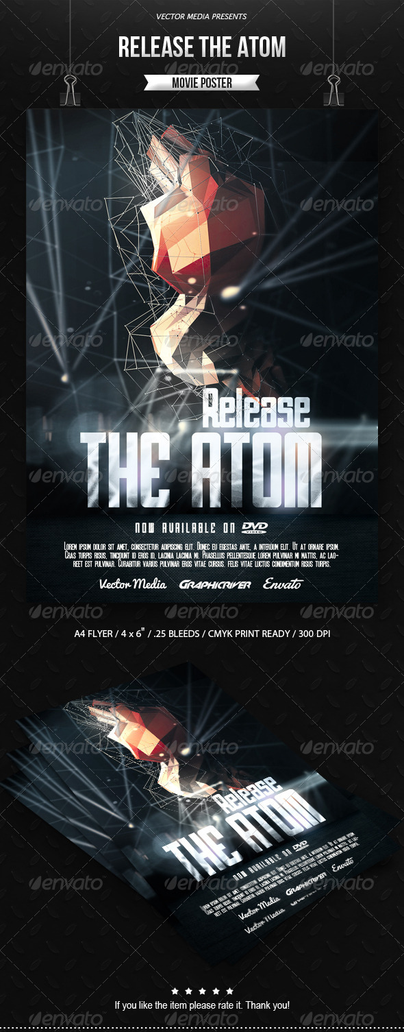 Release The Atom - Movie Poster - Miscellaneous Events