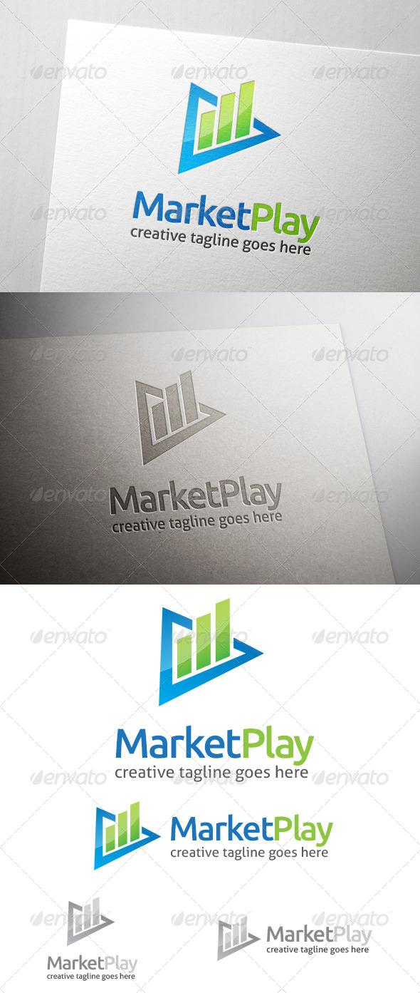 Market Play Logo - Symbols Logo Templates
