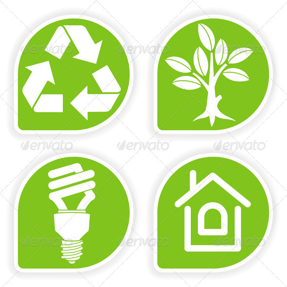Collect Environment Sticker - Web Elements Vectors