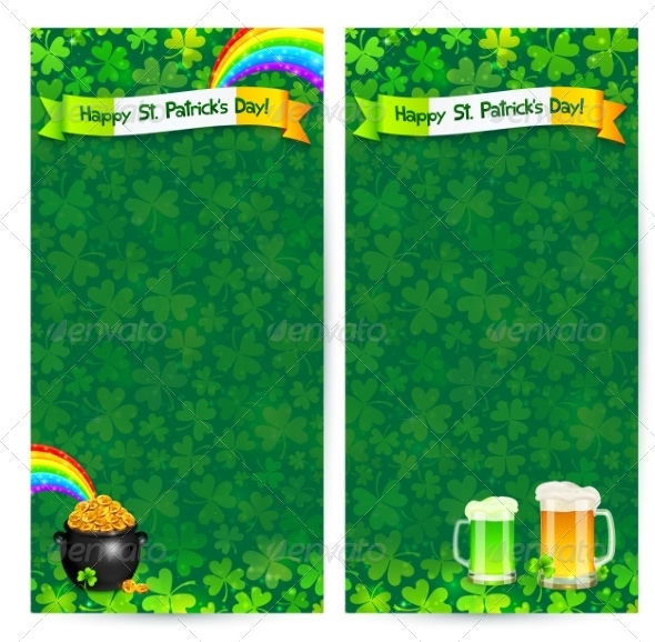 Green Patrick's Day Flyer Templates - Miscellaneous Seasons/Holidays