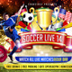 Soccer live 2014 Flyer Template - GraphicRiver Item for Sale