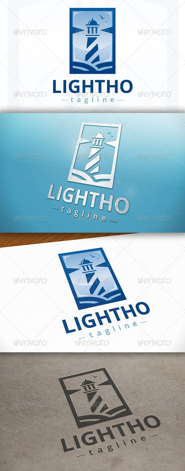 Lighthouse Logo Design - Buildings Logo Templates