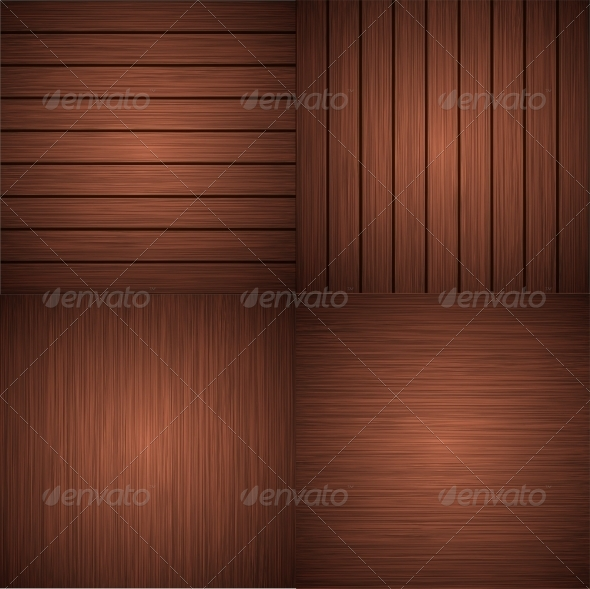 Modern Wooden Backgrounds - Borders Decorative