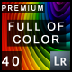 40 Premium Full Of Color Lightroom Presets - GraphicRiver Item for Sale