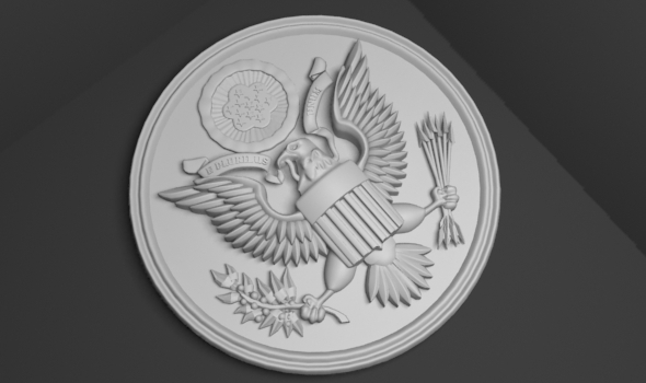 United States national emblem  - 3DOcean Item for Sale