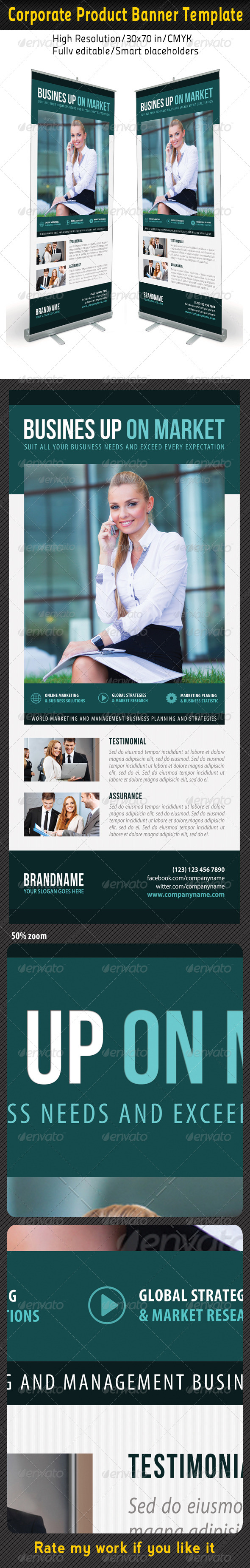 Corporate Multipurpose Banner Template 57 - Signage Print Templates